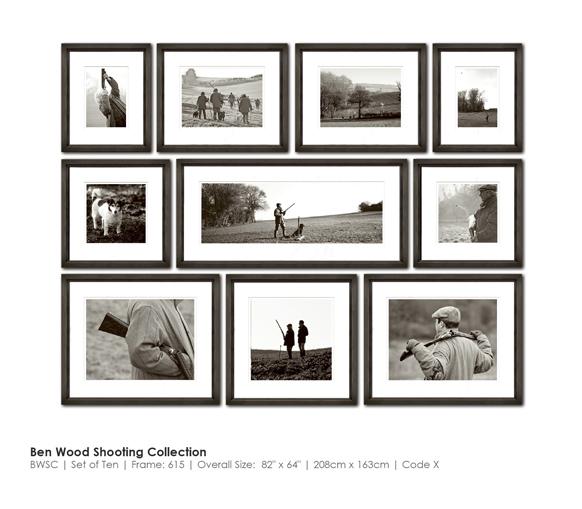Набор картин Ben Wood Shooting Collection