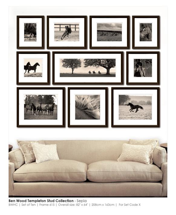 Набор картин Ben Wood Templeton Horses
