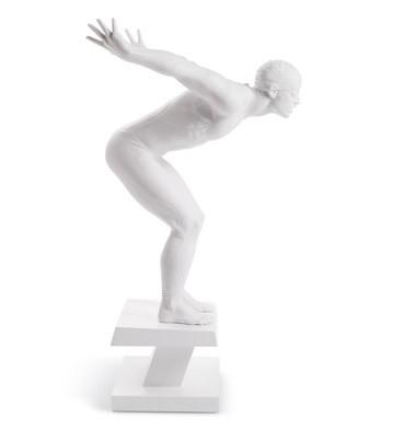 Статуэтка «Пловец»