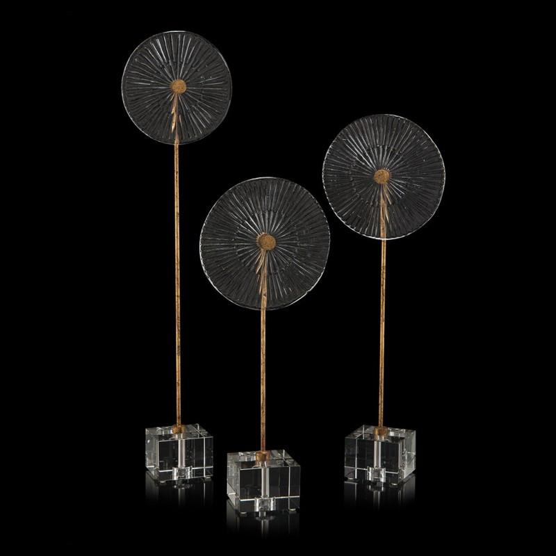Скульптура Three Glass Disks, John Richard (Америка)