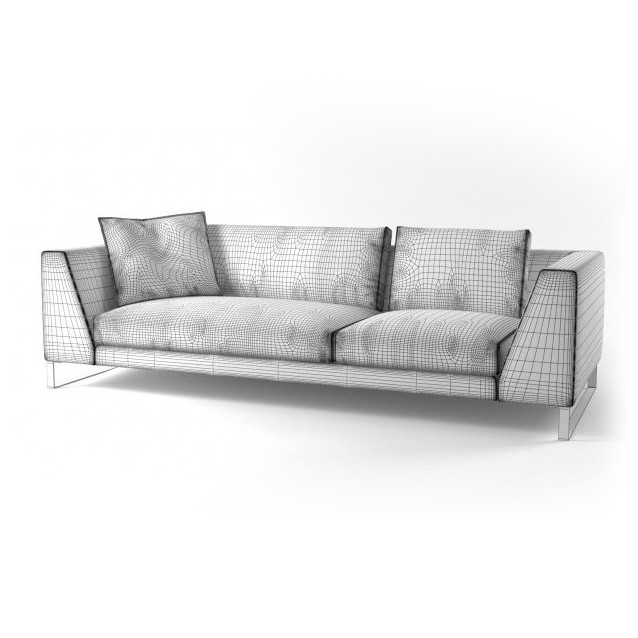 Диван Exclusif 2 Large with Armrest A, Ligne Roset (Франция)