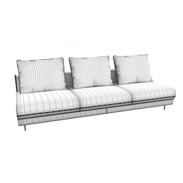 ДИВАН ENKI LARGE WITHOUT ARMS, LIGNE ROSET