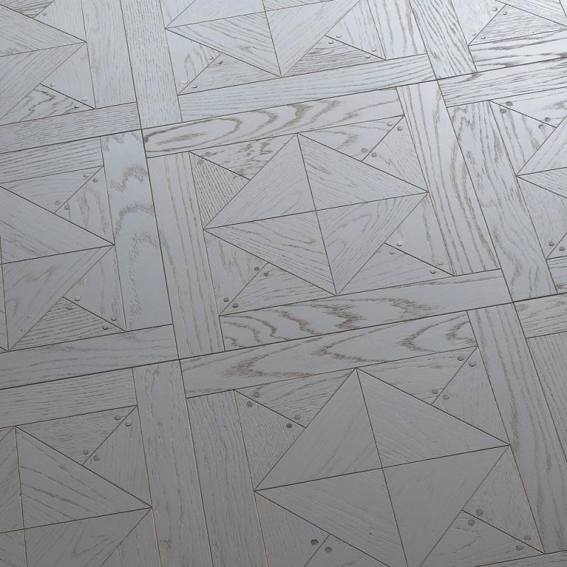 Паркет дуб Stud Tiles Grey, Diesel with Berti (Италия)