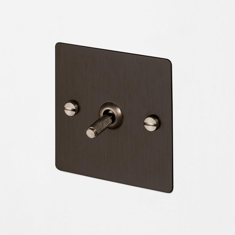 Выключатель одноклавишный Smoked Bronze, Buster&Punch (Англия)