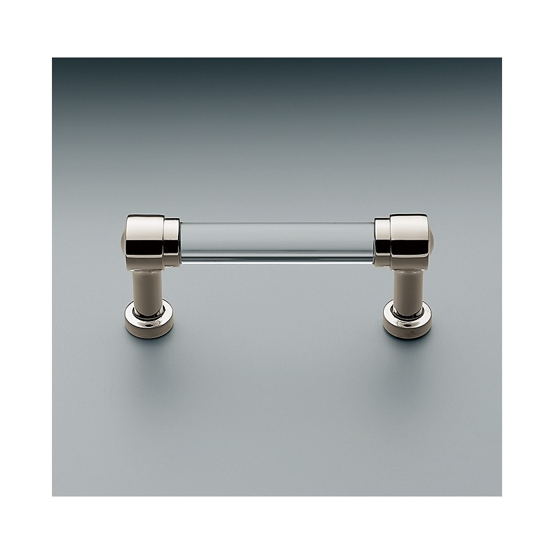 Ручка из коллекции Grafton Glass - Polished Nickel, Restoration Hardware (Америка)