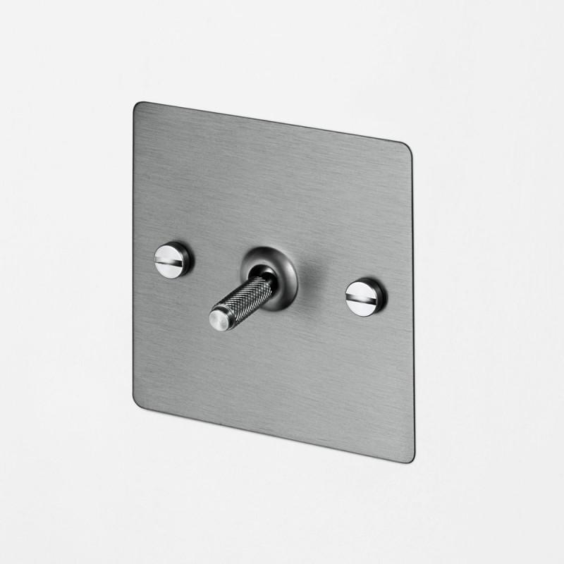 Выключатель промежуточный одноклавишный Steel, Buster&Punch (Англия)