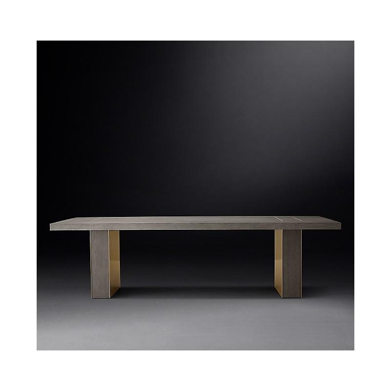 Обеденный стол из коллекции Gage, Restoration Hardware (Америка)