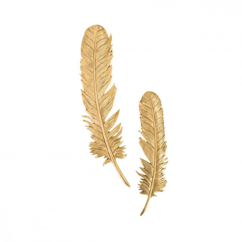 Настенный декор Feathers Gold Leaf, Phillips Collection (Америка)