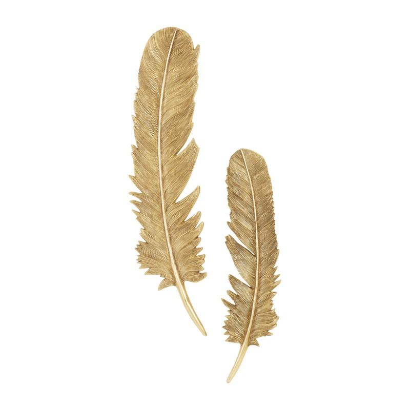 Настенный декор Feathers Gold Leaf, Phillips Collection (Америка)