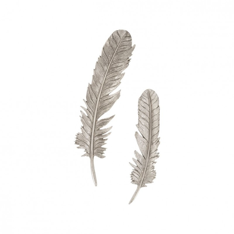 Настенный декор Feathers Silver Leaf, Phillips Collection (Америка)
