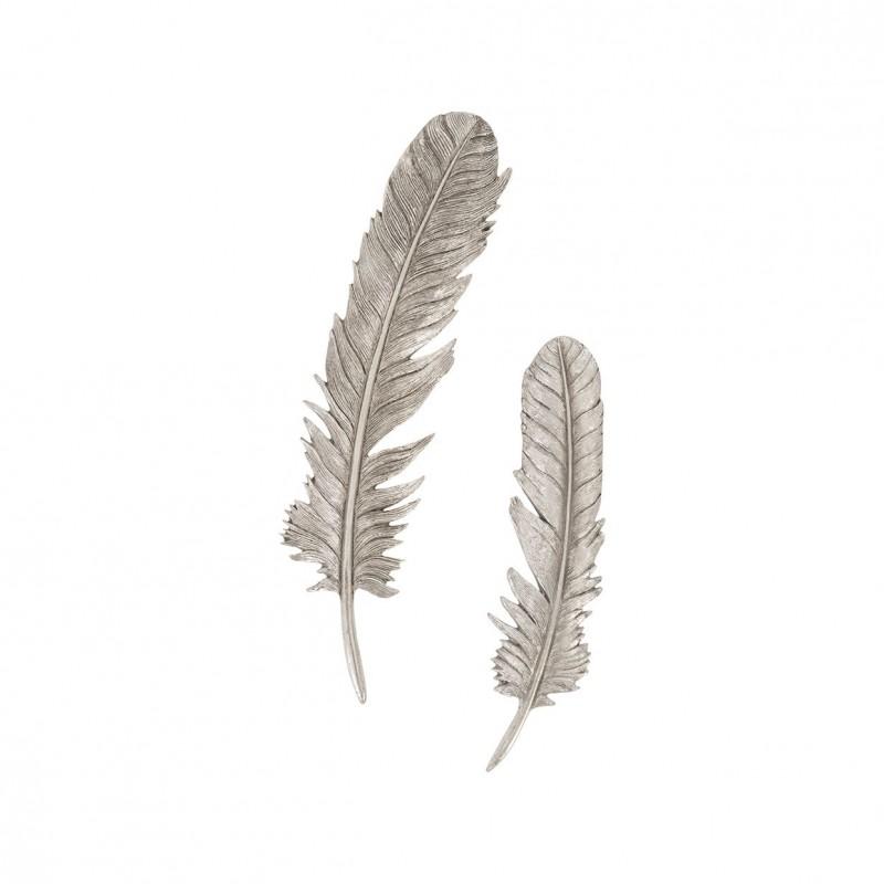 Настенный декор Feathers Silver Leaf, Phillips Collection (Америка)