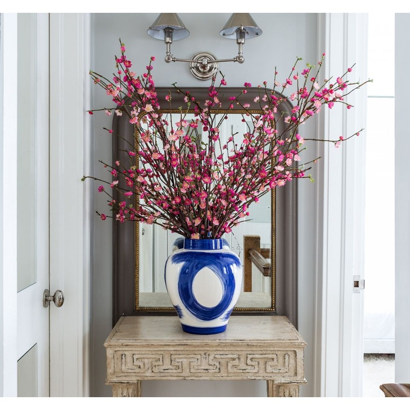 Цветущая вишня в керамической вазе, NDI (Америка)