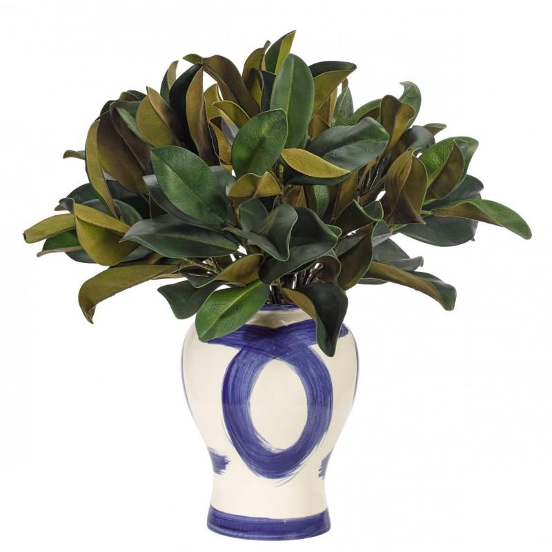 Магнолия в керамической вазе, NDI (Америка)