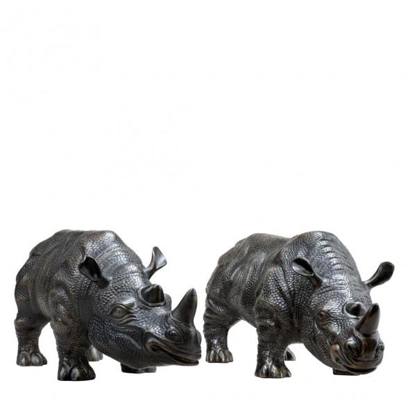 Комплект статуэток Носорог, Eichholtz Нидерланды