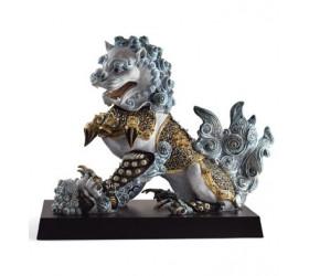 Львица-хранительница (голубая)