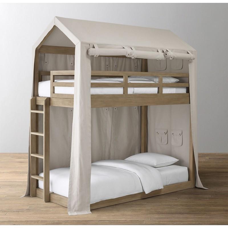 Кровать из коллекции Cole House, Restoration Hardware (Америка)